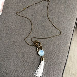 J. Crew jumbo brûlée statement necklace